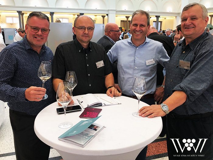 The Association members at VDP TOUR in Berlin this year again.